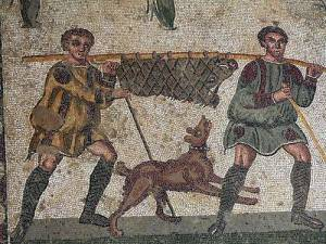 Ancient Hunting Dogs