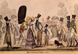 Caricature of Miniature Poodle 1821