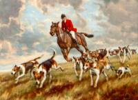 Fox Hunting with a Terrier