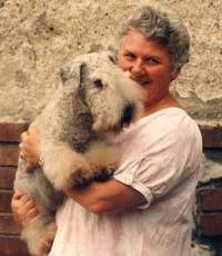 Jane with Cesky Terrier