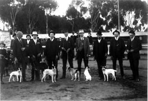 Tenterfields with Hunting Party c 1930